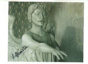 Agnieszka Bconska DOCTOR WHO 'Stone Angel' Genuine Signed Autograph 10x8 COA 2017